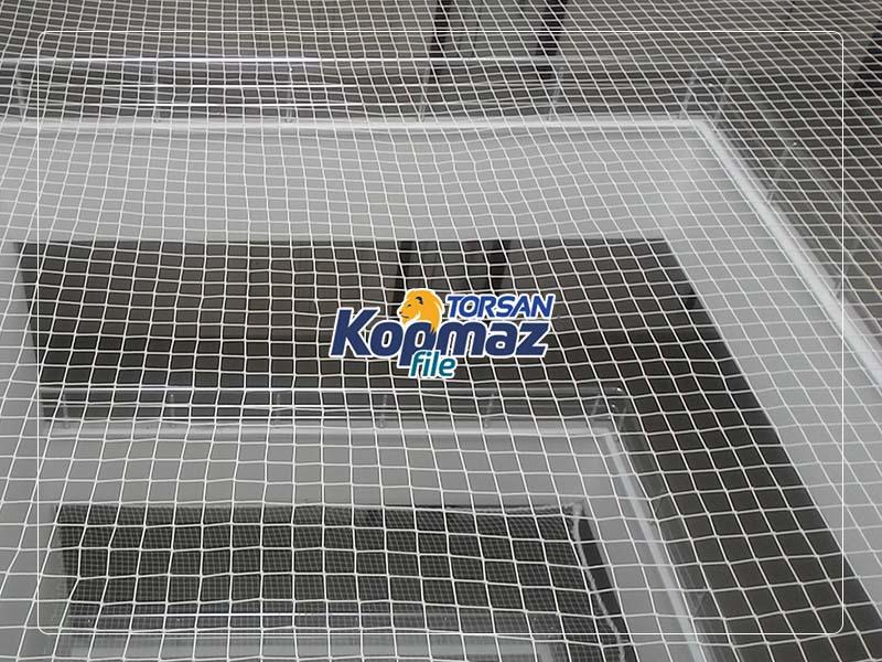 yatay sistem merdiven güvenlik filesi